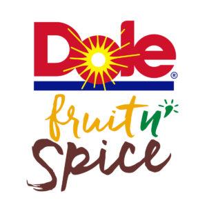 Sponsors Dole fruit n' spice