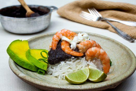15-shrimpblackbeanlandscapeweb Latin Food Fest San Diego